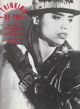 Thinking of You - SA-FIRE - 1988 US Sheet Music