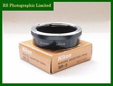 Nikon BR-3 Macro Adapter Ring with Box Stock No.C1144