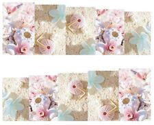 Nail Art Sticker Water Decals Transfer Stickers Pink Sea Urchins Beach (DB160)