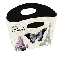 PARIS EIFFEL TOWER  BUTTERFLY  Storage container. NEW.