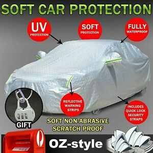Car Cover For Mazda 3 8-Layers Aluminum UV Reflection Anti Dust Dirt Waterproof