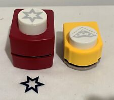 Emagination All Night Media STARS Paper Punch Punches Corner Lot of 2
