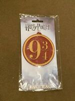 Loot Crate Harry Potter 9 3/4 Luggage Bag Tag BIOWORLD NEW MIP