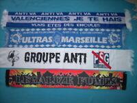 RARE Echarpe Legalize fumis groupe mouvement ultra cu84 sw87 mtp yankee fanatics