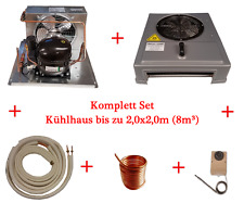 Kühlhaus, Kühlzelle, Kälteanlage, Kühl-Aggregat, Verdampfer R134A, KPSET586W NEU
