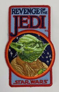 1983 Star Wars Original Revenge Of The Jedi Patch Yoda Authentic Fan Club
