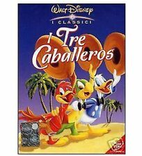 DISNEY DVD I tre caballeros - ed. italiana con celophan