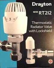 Drayton RT212 Thermostatic Radiator Valve with Lockshield Included