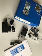 Nokia 6700 slide - Silber (ohne Simlock) 100% Original !! Unbenutzt!! Top!!