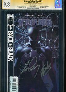 Amazing Spider man #539 CGC 9.8 Signed  by Ron Garney +Stan Lee