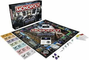 Black Panther Monopoly Board Game Marvel Movie Edition