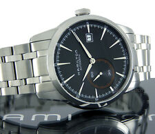 HAMILTON MEN WATCH SWISS MADE AUTOMATIC SAPPHIRE 42mm SOLID STEEL H40515131