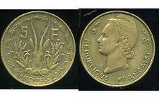 AFRIQUE occidentale francaise  5 francs 1956