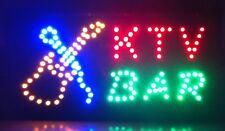 Led Neon Light Animated Motion Karaoke Ktv Bar Open Business Sign BarJ62