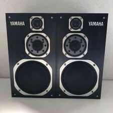YAMAHA NS1000MM Studio Monitor Speaker System Black Set of 2 Used Japan