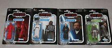 Star Wars Vintage Collection Last Jedi Guard, Luke, Crait Luke, Rey Island