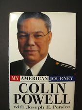 "Signed Biography GENERAL COLIN POWELL ""My American Journey"" 1995 1st Ed."