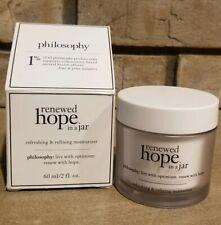 PHILOSOPHY ~ Renewed Hope in A Jar  - Refreshing & Refining Moisturizer 2 Oz.