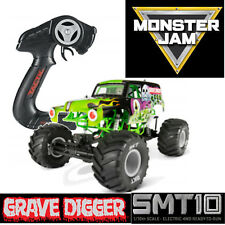 Axial smt10 GRAVE DIGGER MONSTER JAM TRUCK 1-10 Electric 4wd RTR ax90055