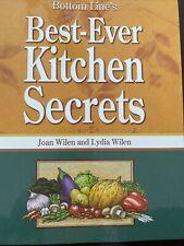 Best Ever Kitchen Secrets & Home Secrets Joan Wilen & Lydia Excellent Condition