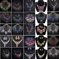 Fashion Jewelry SETS Pendant Chain Choker Chunky Statement Bib Collar Necklace