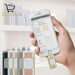 i Flash Drive OTG Device USB Memory Stick For iOS iPhone 5 5S SE 5C 6 6S Plus 7