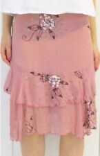 #savingglory ALANNAH HILL Garden Of Eden Skirt Silk Sequin Beadwork Sz AU 8
