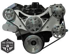 Big Block Chevy Serpentine Kit Machined Billet Aluminum Power Steering NO A/C
