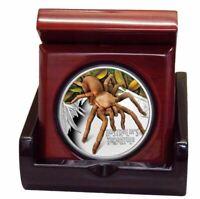 2020 DEADLY & DANGEROUS TARANTULA 1oz Silver Proof Coin