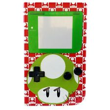 Mario 1up Mushroom custom Nintendo Gameboy shell housing diy green