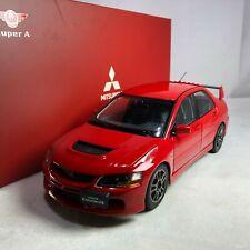 1/18 Super A Mitsubishi Lancer Evolution IX GSR Red Diecast AC11113
