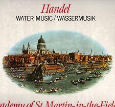 "MARRINER ""HANDEL: WATER MUSIC"" LP 1979 philips"