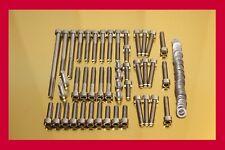 Suzuki Intruder VL 1500 Stainless Steel Bolt-kit Screws-set Motor Engine Cover