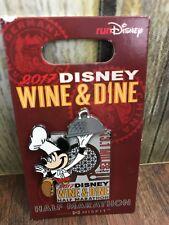 New 2017 Disney Wine & Dine Run Half Marathon 13.1 Miles Pin Trader Mickey Mouse