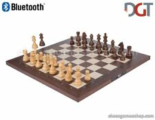 DGT BLUETOOTH Rosewood eBoard with TIMELESS pieces - Electronic chess - sensory