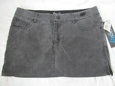 New Women's FOX Black Mini Swim Cover Up Skirt HYDRO SERIES Quick Dry Size 0
