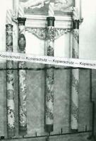 Diessen - Kreis Landsberg - Zunftkerzen in der Kirche - wohl um 1950 -   S 25-30