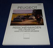 Peugeot Personenwagen Eine Chronik