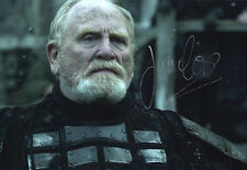 James Cosmo, Jeor Mormont in Game of Thrones, signed 12x8 photo. COA. Proof.
