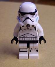 Lego Star Wars Stormtrooper Figur weiss blau Azure ( Helm Storm Trooper ) Neu