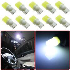 10Pcs T10 3D LED White Lights Car Side direction Dome Reading Lamp Bulbs DC 12V