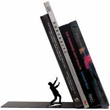 Falling Bookend Black Metal Book Stopper Holder Artori Design New Genuine