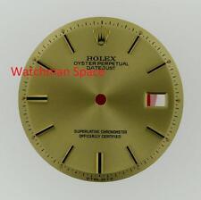 Original Men's Rolex Datejust NQ 1600 1601 1603 Champagne Stick Dial 2Tone #E10