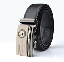 Mens Mercedes-Benz Logo Auto Buckle Belt