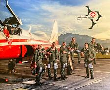 SWISS AIR FORCE Patrouille Suisse Katolog 2021 Seiten Anzahl 20