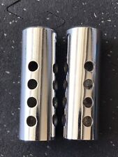 Old School Chrome BMX Freestyle BICYCLE Pegs Axle Extenders