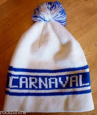 Vintage CARNAVAL de QUÉBEC * WINTER KNIT HAT/ toque tuque QUEBEC WINTER CARNIVAL