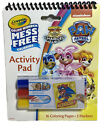 Paw Patrol  Color Wonder Mess Free Activity Pad With 3 Markers New W12