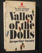 Valley Of The Dolls Jacqueline Susann Vintage Paperback Book Patty Duke Hayward