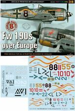 Fw 190s over Europe Part II, TopColors,  ENGLISH!  Decals!!